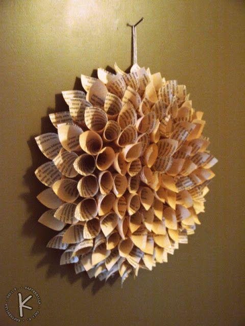 diy paper door ornament