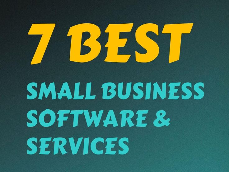 7 Best Small Business Software & Services by Devender Bisht via slideshare http://www.tykans.com
