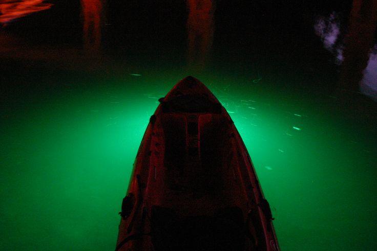 43 best kayak modifications images on pinterest kayaking for Kayak lights for night fishing