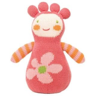 Super cute hand knitted doll