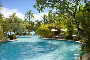 Melia hotel bali on booking.com 7149 SEK pour deux petit dej inclus