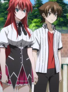 highschool dxd born issei and rias