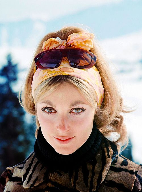 Sharon Tate in Italy while filming The Fearless Vampire Killers, 1966. Photographed by Pierluigi Praturlon