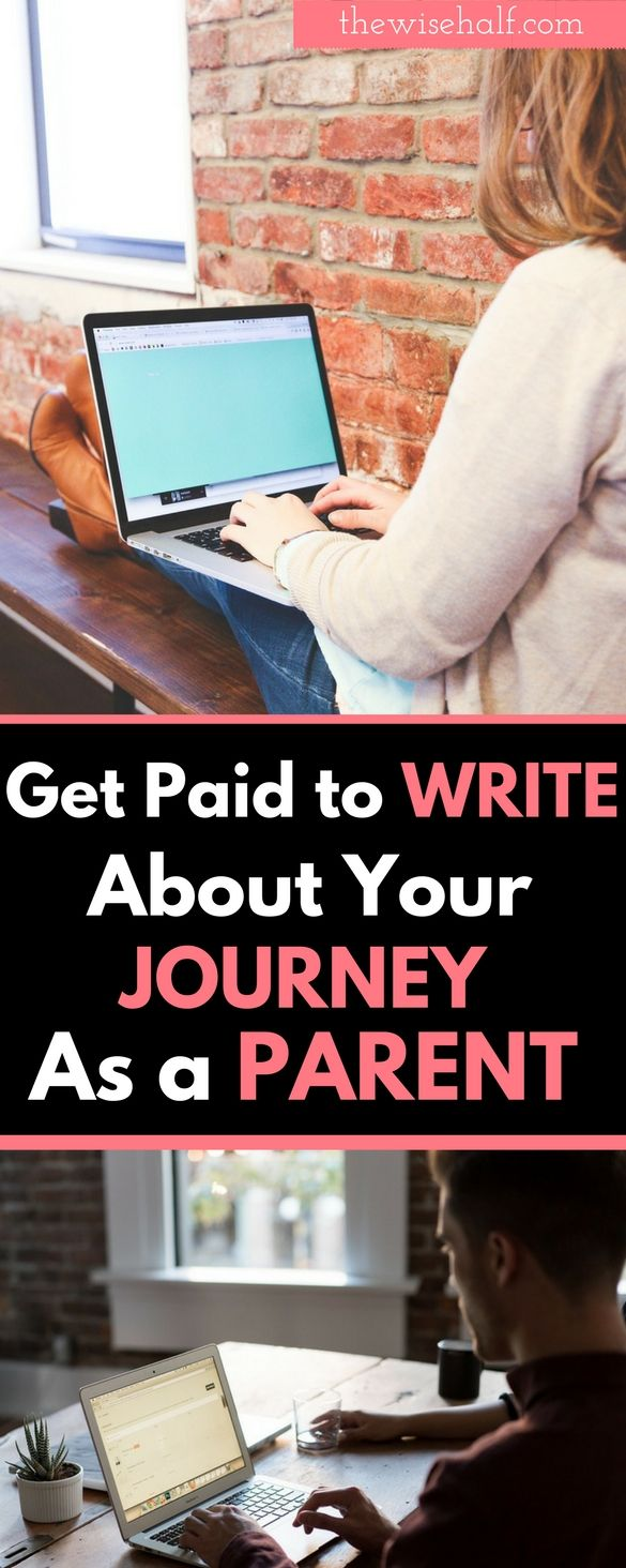 Do you like to get paid writing? Talking about your ongoing journey as a parent? Being a single mom or dad? How do you deal with your teens? Or how your ki