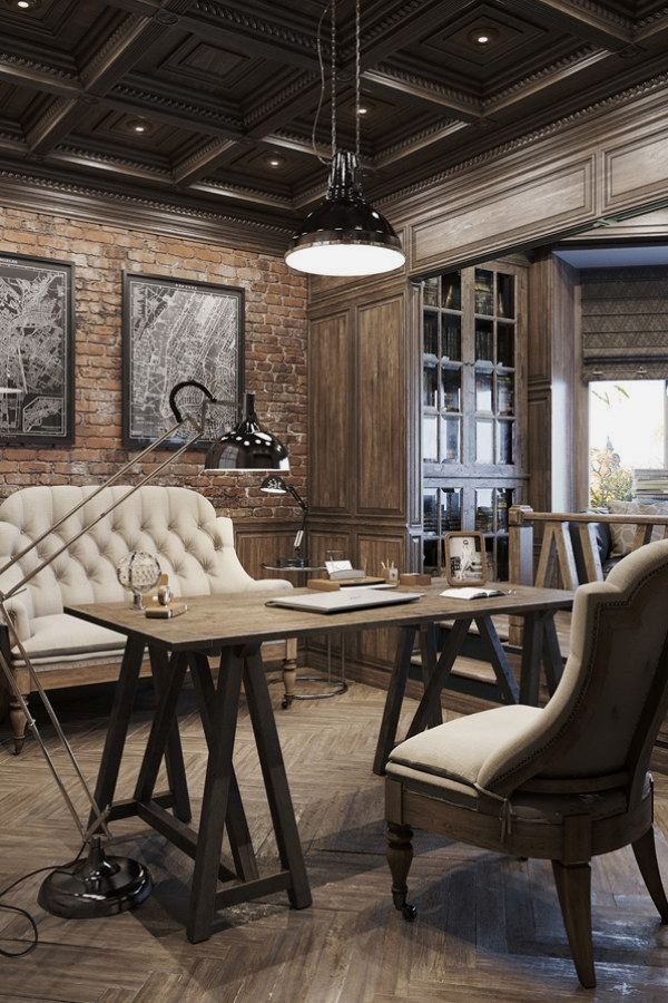 Stunning Industrial Vintage Decor Designs For A Brick & Steel Home ...