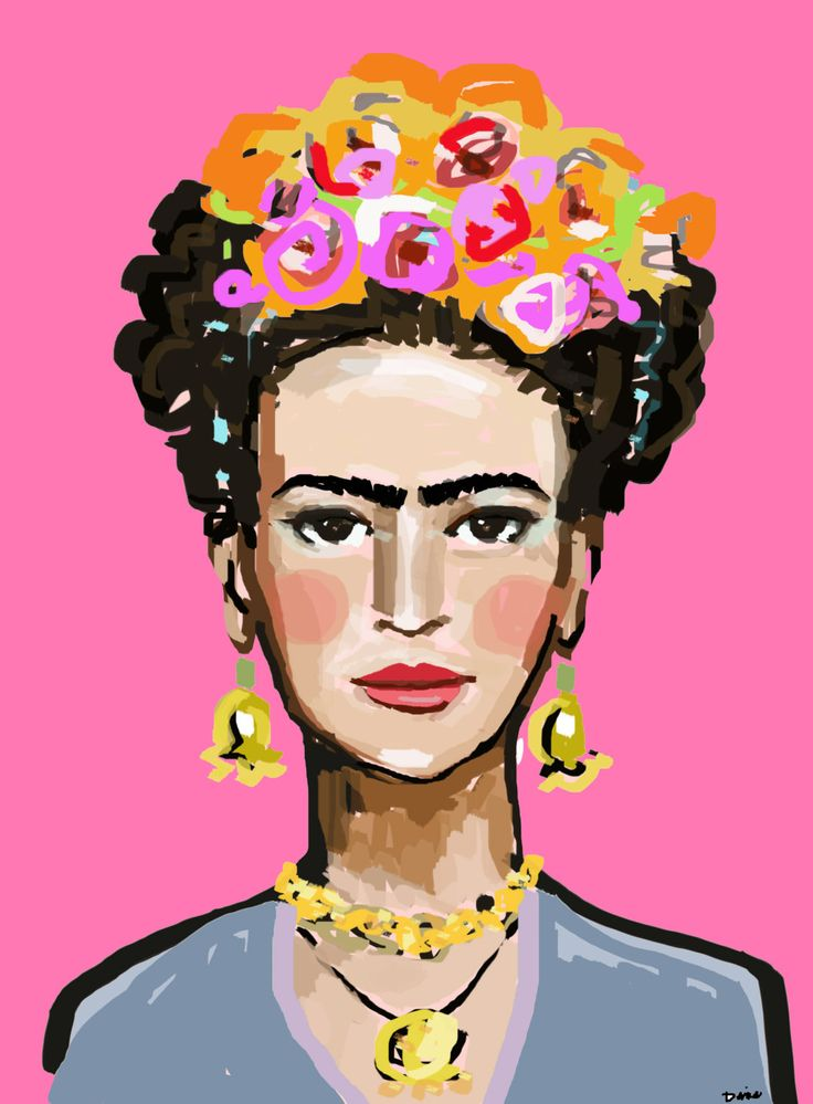 Frida Kahlo Print roses 8 x 10 12x15 16x20 (12.00 USD) by DevinePaintings