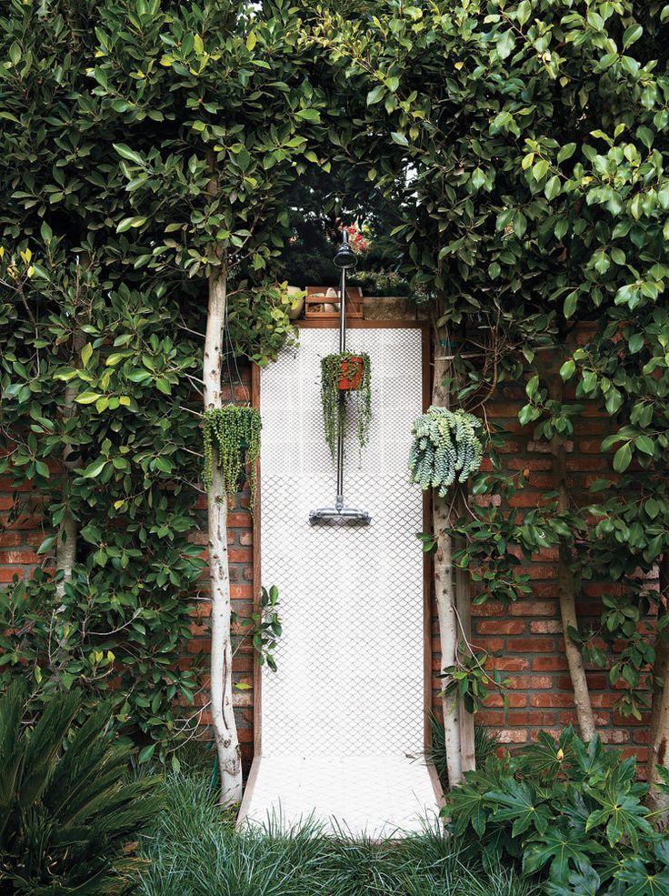 Doug Aitken's garden shower