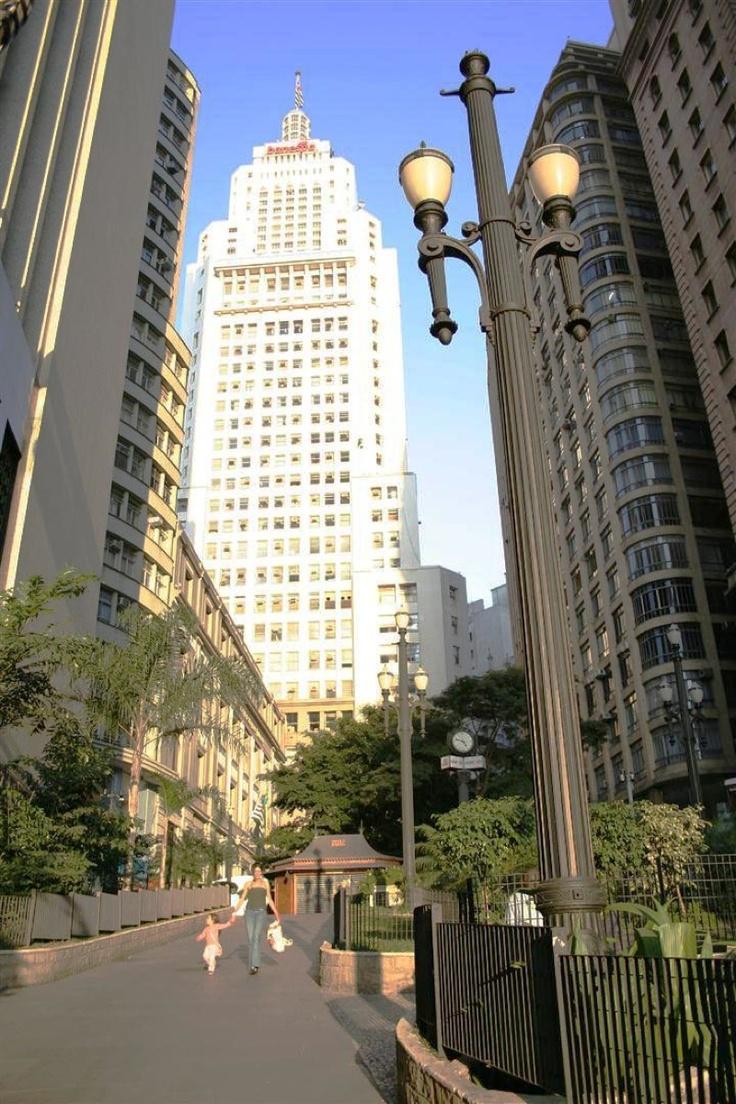 Altino Arantes Building, former Banespa Tower (Torre do Banespa) - São Paulo, Brazil