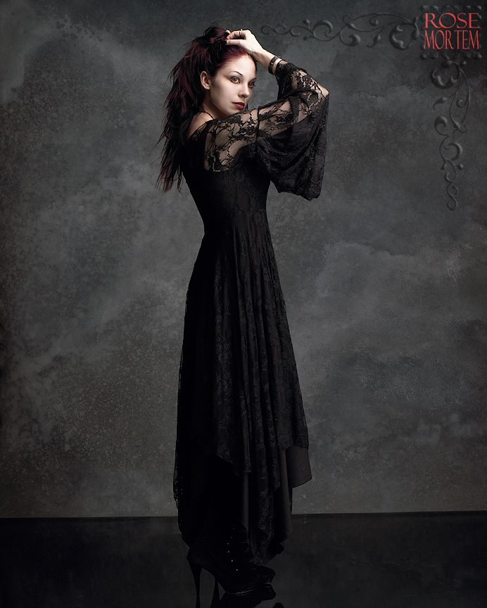 Romantic Gothic Dress Phaedra Gown By Rose Mortem My Style Womens Pinterest Romantic