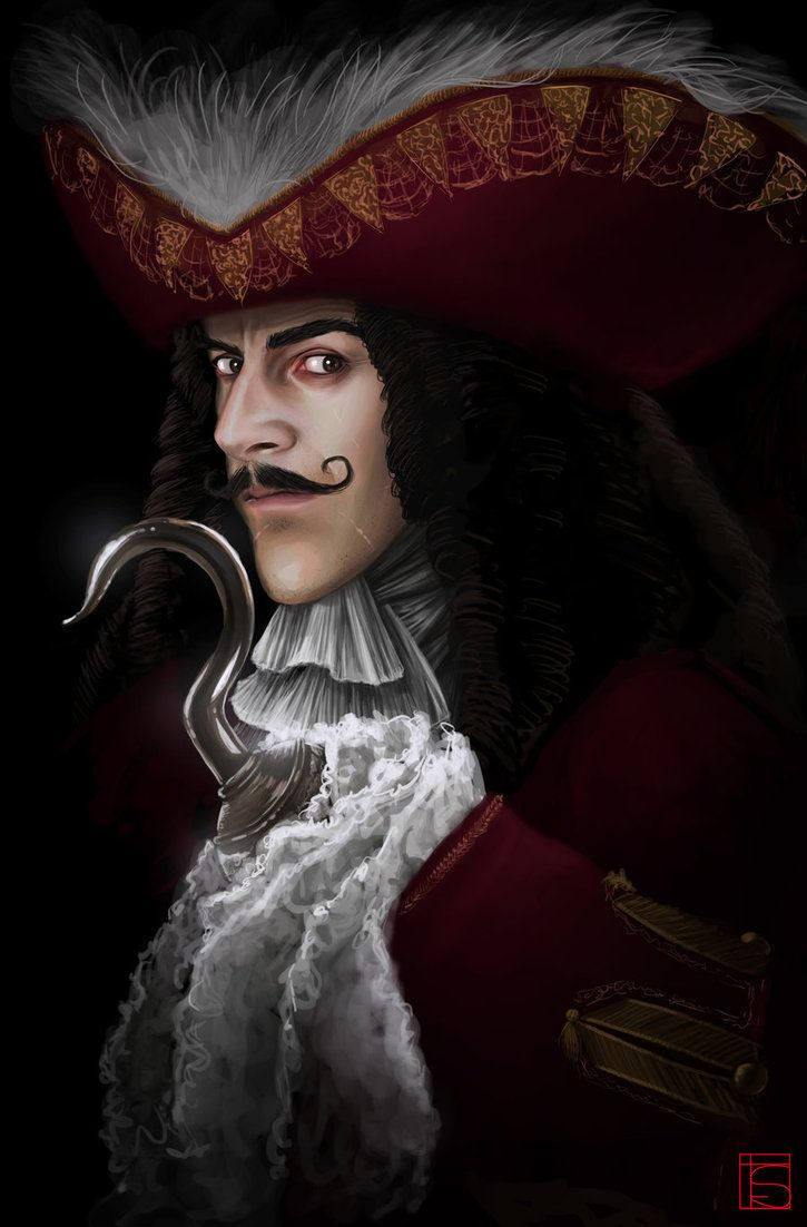 Captain James Hook by FloorSteinz on DeviantArt
