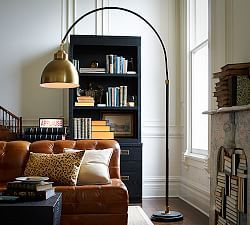 arc lamp living room standing lamps living room forward winslow arc. Black Bedroom Furniture Sets. Home Design Ideas