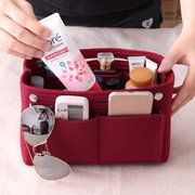 Bag in Bag Felt Casual Travel Multi-pockets Storage Bag Liner Package Cosmetic Bag is fashion-NewChic Mobile