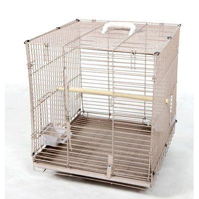 Tucker Murphy Pet Jaxon Folding Travel Carrier Bird Cage