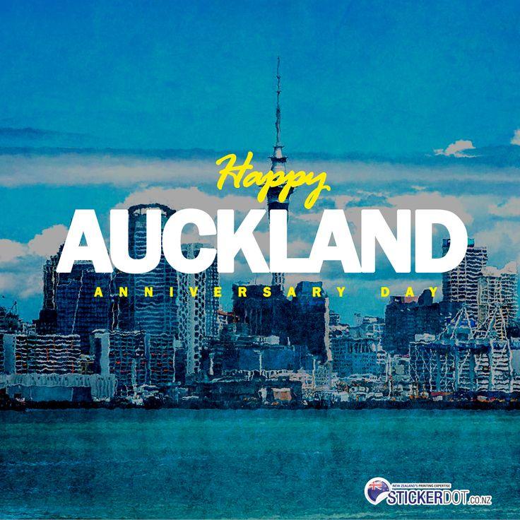 HAPPY AUCKLAND ANNIVERSARY DAY NewZealand NZ Auckland