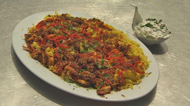 Nan's Burmese Chilli Prawn Curry