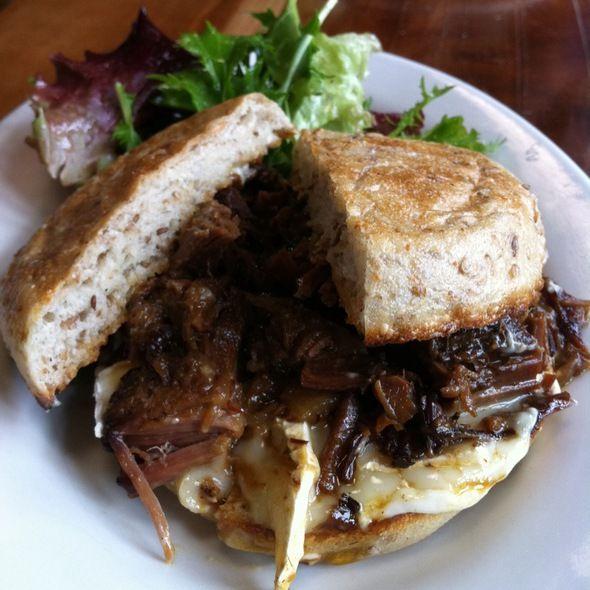 Winslows Home Brisket Sandwich