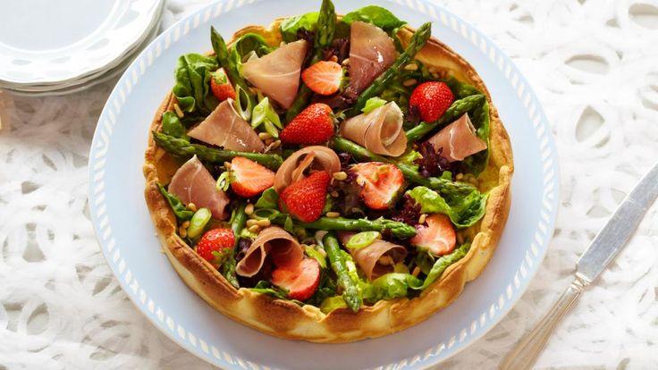 Oppskrift på pai med sommersmak