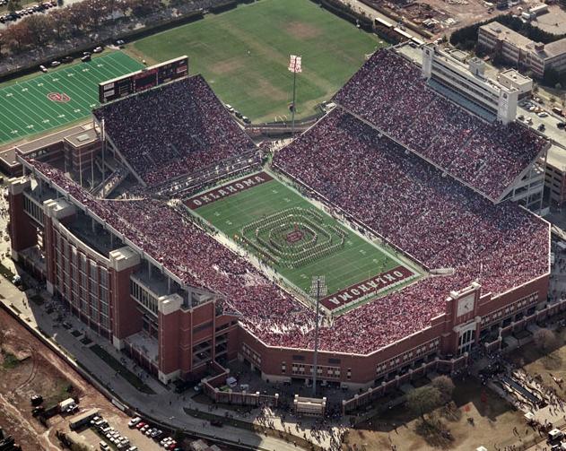 Memorial Stadium, Norman, Ok