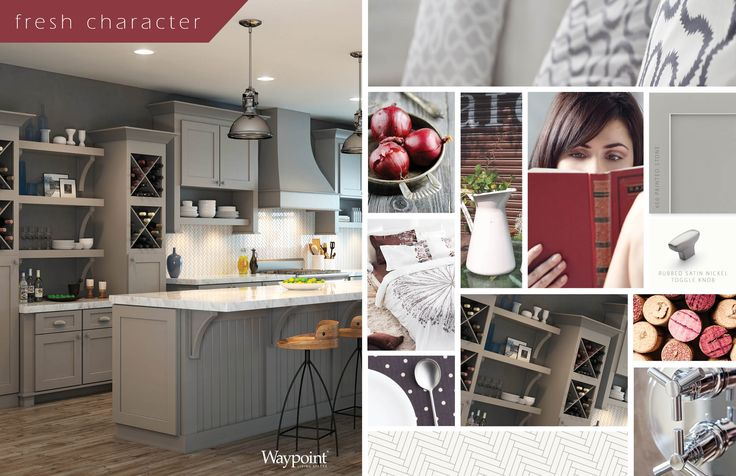 Kitchen Cabinets Shown With Door Style 650 Painted Stone Mood Board Mondays Pinterest