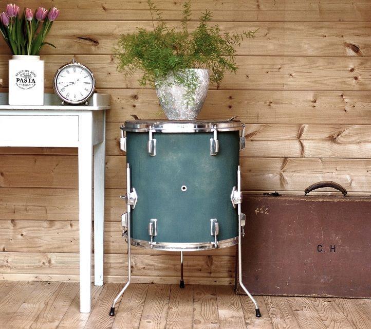 Santiago Modern Burnished Brass Drum Coffee Table: Best 25+ Drum Coffee Table Ideas On Pinterest