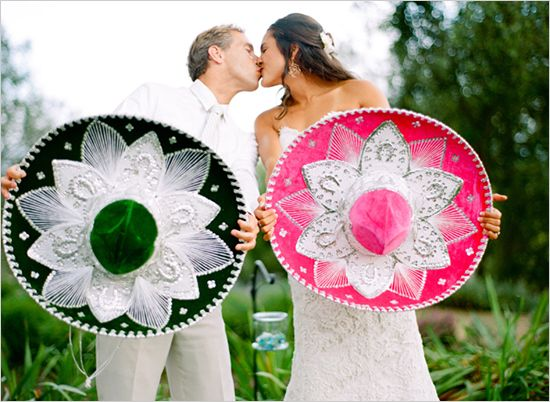 In the spirit of Cinco de Mayo we give you a festive Wedding inspiration Board filled with bright colors and vibrant décor.  http://www.bridalreflections.com/blog/cinco-de-mayo-wedding