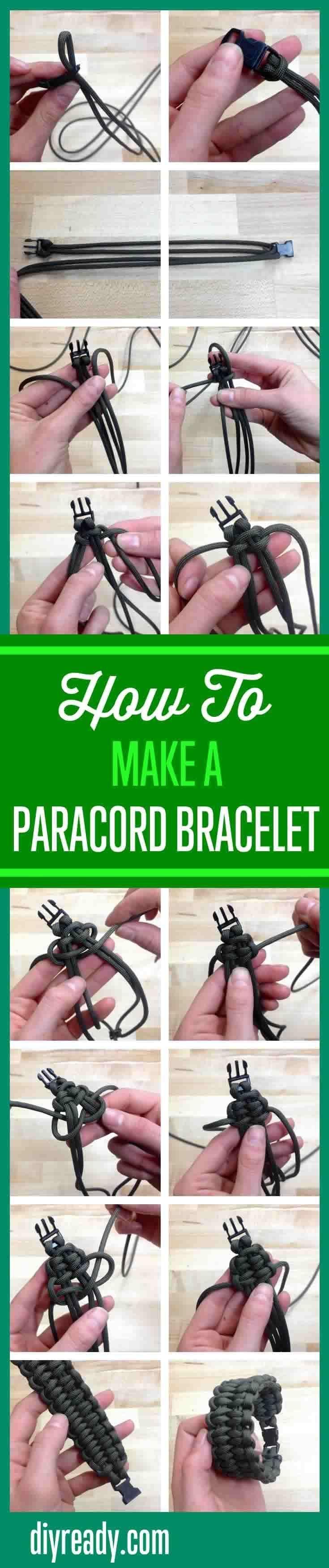 quick deploy paracord bracelet instructions