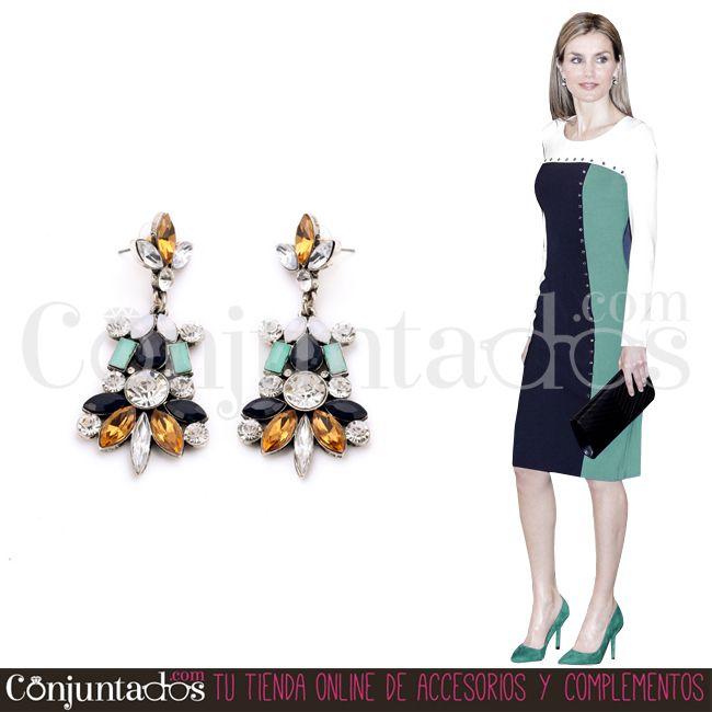 Los Pendientes Emma son perfectos para lucirlos... ¡A todas horas! ★ 13'95 € en https://www.conjuntados.com/es/pendientes-emma-con-piedras-negras.html ★ #novedades #pendientes #earrings #conjuntados #conjuntada #joyitas #lowcost #jewelry #bisutería #bijoux #accesorios #complementos #moda #eventos #bodas #invitadaperfecta #fashion #fashionadicct #picoftheday #outfit #estilo #style #GustosParaTodas #ParaTodosLosGustos