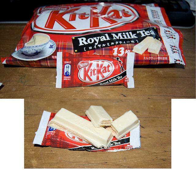 Royal Milk Tea - Kit Kat