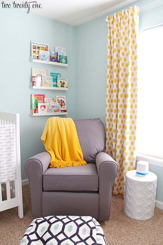Bright & Colorful Nursery