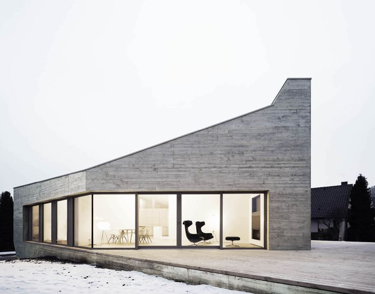 473 best minimalist architecture images on pinterest for Minimalist residential architecture