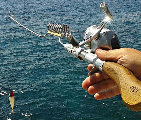 The Compact Fishing Rod calls itself the Swiss Army Knife of fishing rods, and it earns that title well. This modular fishing rod can be partially .........