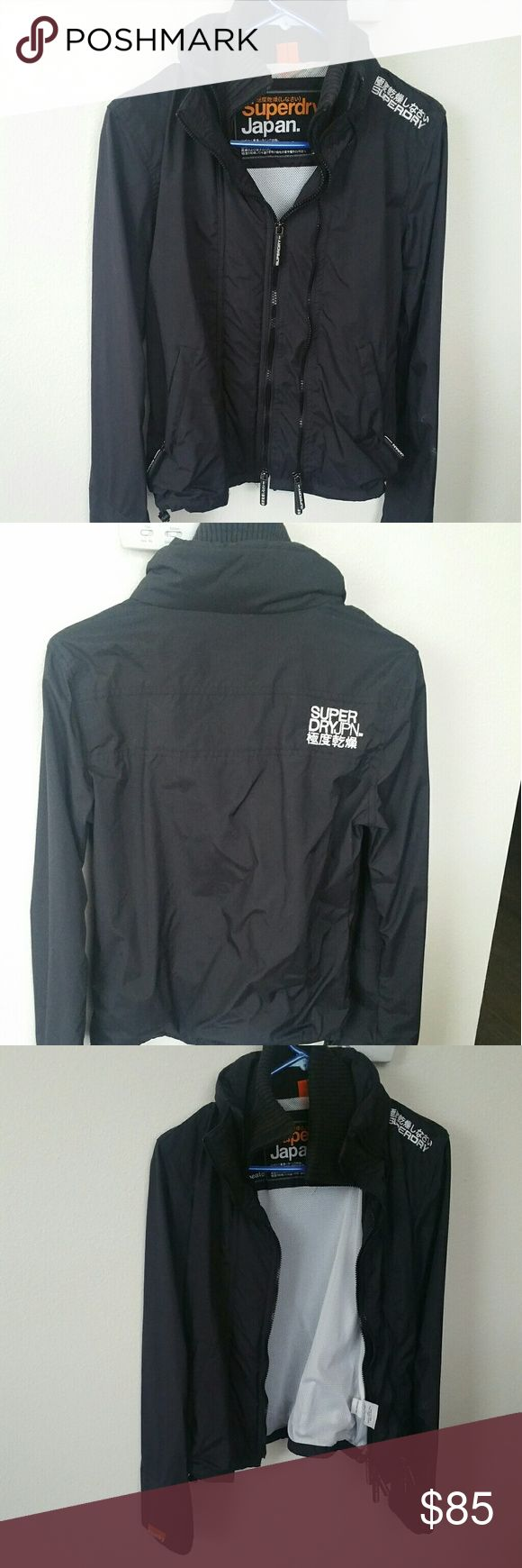 **final sale** Superdry jacket Like new condition. Has double zipper. Perfect for fall/west coast winter weather/rainy day... Superdry Jackets & Coats