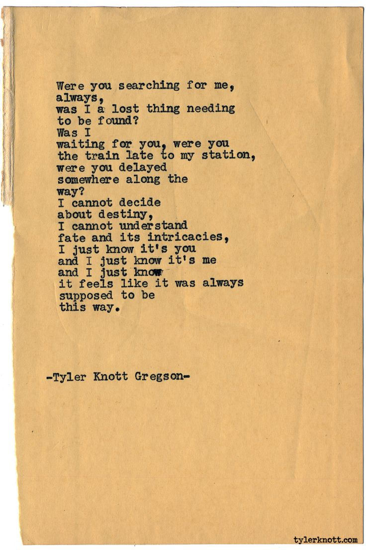 Typewriter Series #1569 by Tyler Knott Gregson Chasers of the Light & All The Words Are Yours are Out Now!