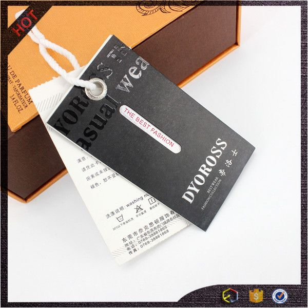 Source custom printed jeans hang tag 2016 manufacture on m alibaba
