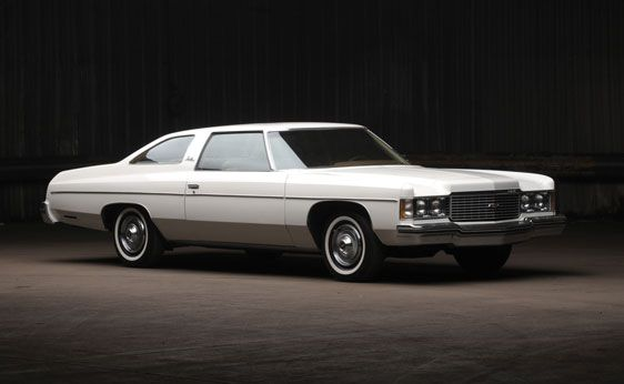 1974 Chevrolet Impala Custom Coupe 350 4bbl V8 Th350 3sp Auto Luxury Cars Pinterest Chevy