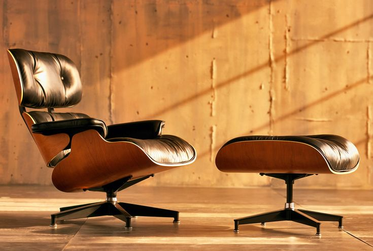 Eames Lounge Chair & Ottoman. One of the most elegant and beautiful chair designs ever #clasicosdeldiseño