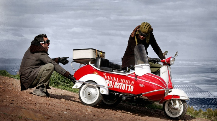 The Vespa VBB, with a 1964 sidecar.