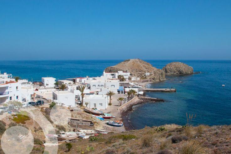#Isleta_del_Moro. More information to plan your trip to #Cabo_de_Gata in www.qnatur.com