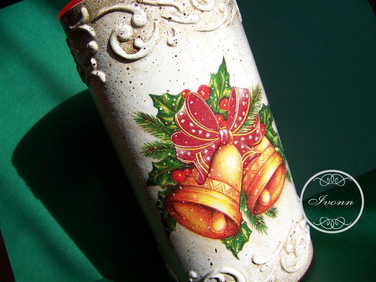 Puszka-tuba na świąteczne łakocie 3