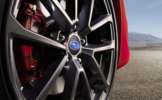 Колесные диски седана Subaru WRX 2018 / Субару WRX 2018