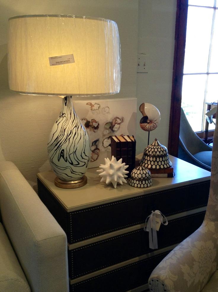 Side Table Decor By Dixon Smith Interiors. Baton Rouge,LA.