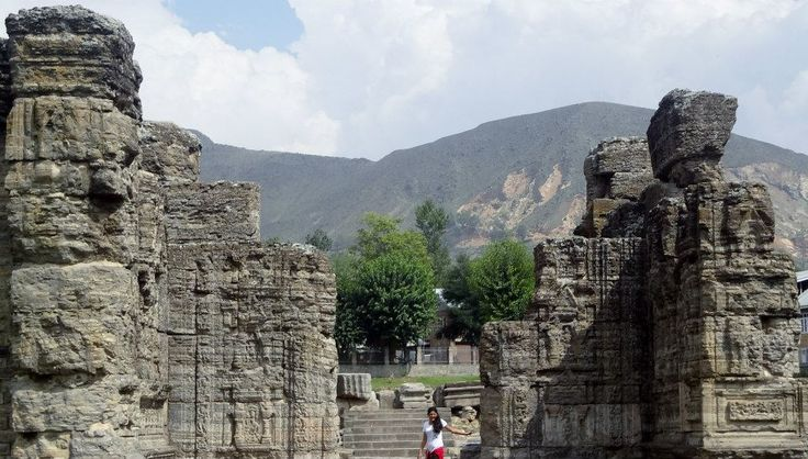Ruins of Avantiswamin Temple, Distt. Pulwama - 30 km from Srinagar