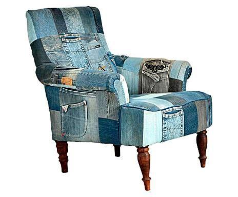 Inspirerend Industrieel: Stoel Blue Jeans, Diepte 70 cm