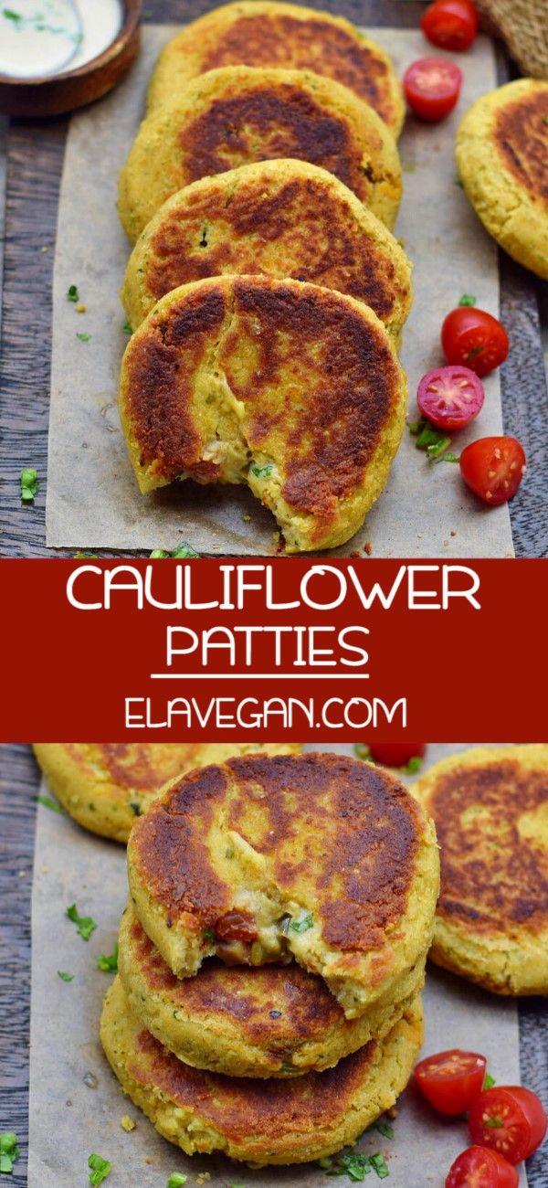 Cauliflower Patties – Good foods