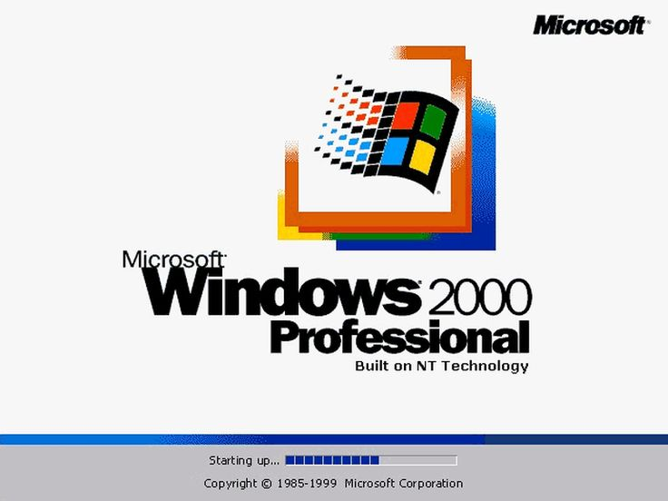 Visual history: Windows splash screens from 1.01 to 10 - Page 18 - TechRepublic