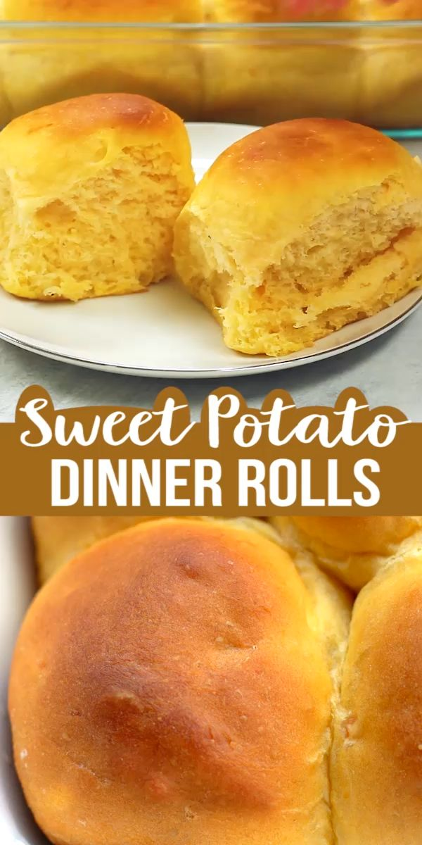 Mar 25, 2020 – Sweet Potato Dinner Rolls are very fluffy,soft and delicious! The recipe is extremely easy to make using …