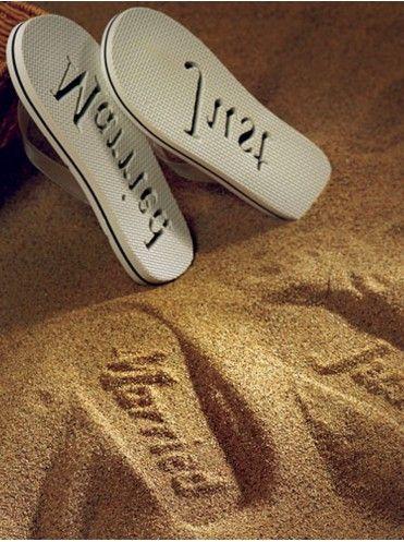 Пляжные сандалии для молодоженов: купить в интернет-магазине