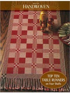 124 best weaving images on pinterest weaving closure weave and best of handwoven top ten table runners on four shaft ebook pdf interweavestore fandeluxe Images