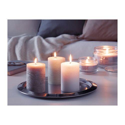 LUGGA Bryłowa świeca zapachowa - IKEA