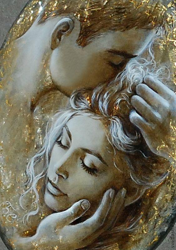 Светлана Беловодова: миниатюрная живопись на камне | Блог художницы